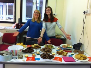 Welfare made 100% better with yummy cakes!